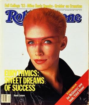 Annie Lennox, Eurythmics, Rolling Stone