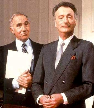 Yes Minister, Nigel Hawthorne, Paul Eddington