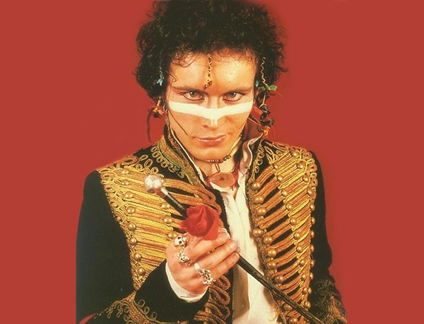 Not really Romantic: Adam Ant in his 1980 guise as a warrior-hussar