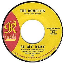 Be My Baby, Ronettes, Phil Spector, Wall of sound, Philles