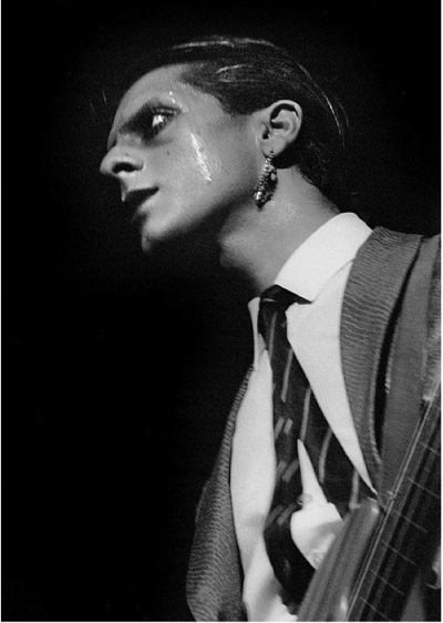Japan pop group, Mick Karn, Hammersmith Odeon , 1982, Sounds ,Chris Dorley-Brown
