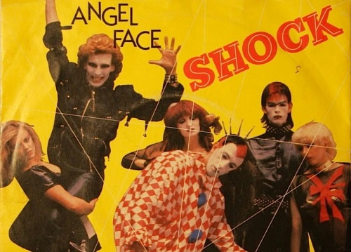 Shock dance troupe, Angel Face, RBRB,rare vinyl ,