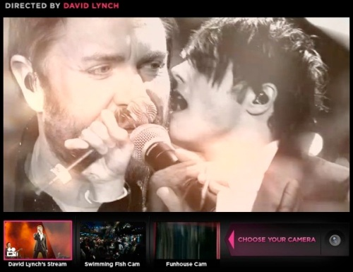 Duran Duran, streaming, live concert, Amex,YouTube, Unstaged, David Lynch, Los Angeles , Gerard Way