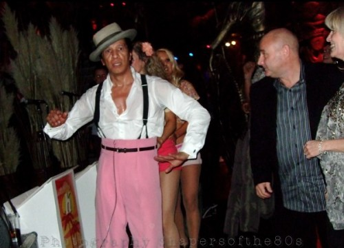 Kid Creole, Coconuts, Shaka Zulu, London