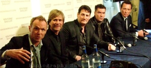 Spandau Ballet, 2009, press conference, HMS Belfast, pop music, free CD