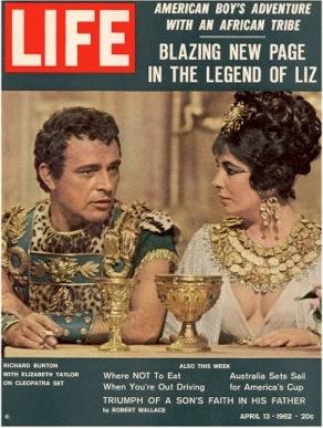 Elizabeth Taylor, Richard Burton, Life magazine, 1962