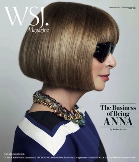WSJ magazine, April 2011, Anna Wintour, Mario Testino, interview