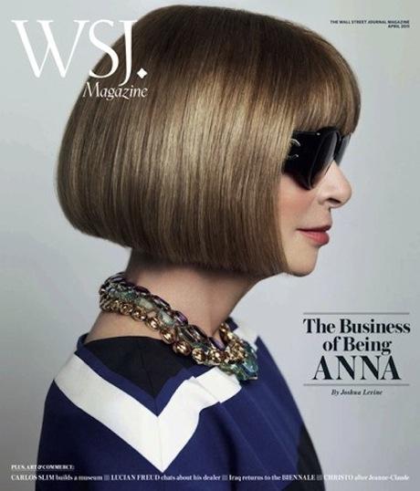 WSJ magazine, April 2011, Anna Wintour, Mario Testino, interview