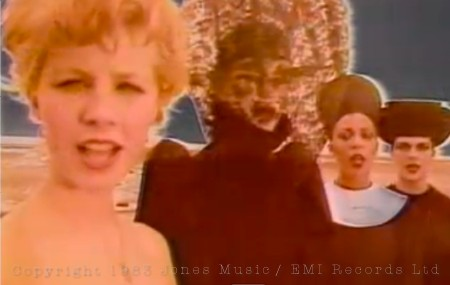 Ashes to Ashes, video, Judith Frankland, David Bowie, fashion, Blitz Kids