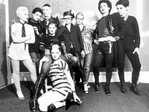 Siouxsie Sioux, Steve Severin, Bromley Contingent, Philip Sallon, punks, Bill Grundy