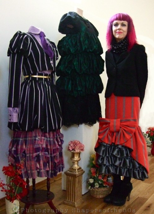 Judith Frankland, Winter 2011,fashion, Hello collection,Holy Biscuit gallery,  governess