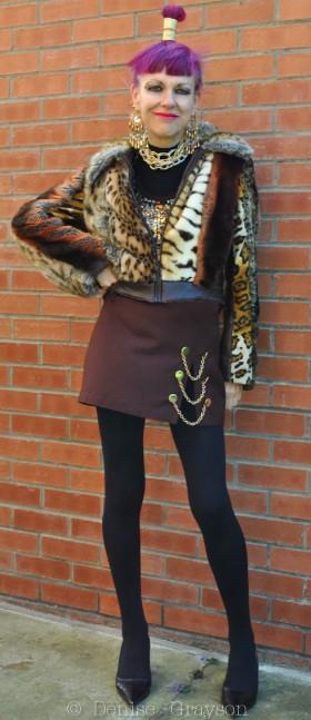 Blitz Kid, Judith Frankland, fashion,The Woman Who Likes to Say Hello