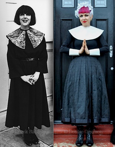 Judith Frankland, fashion,nun,Sound of Music