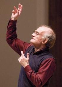 John Rutter, composer,