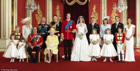 Official Royal Wedding photographs,2011,Hugo Burnand,William & Kate,