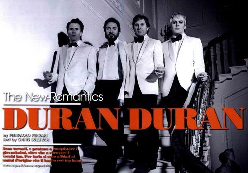 Duran Duran, L'Uomo Vogue,Pierpaolo Ferrari