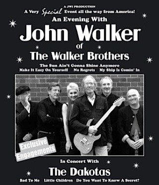 John Walker, UK tour 2010, Dakotas,