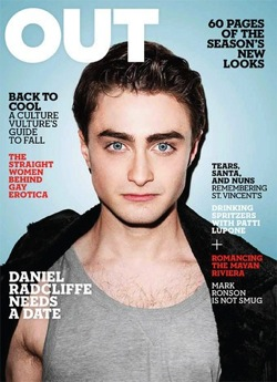 Daniel Radcliffe,Harry Potter, Out magazine, Rich List