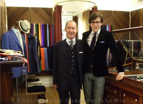 drakes-london,British tailoring, Clifford Street,London,Augustin Vidor, Michael Drake, handmade ties, haberdashery,Stephen Linard