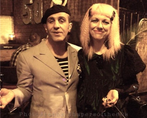Boy George, 50th birthday,Christos Tolera ,Judith Frankland