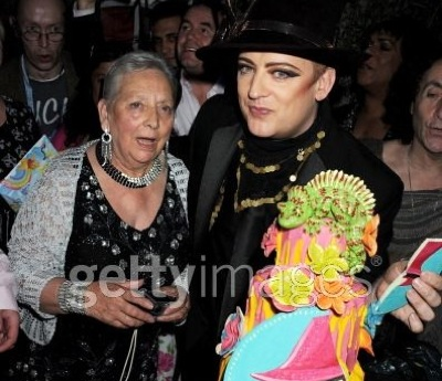 Boy George, 50th birthday, Dinah O'Dowd