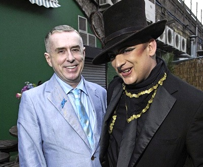 Boy George, 50th birthday,Holly Johnson
