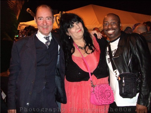 Boy George, 50th birthday,Sue Tilley,Stephen Linard, Les Child