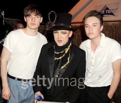 Cameron Jones, Roman Kemp, Boy George, 50th birthday, Paradise Point