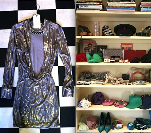 Amwell Street Knocking Shop, pop-up-shop,vintage fashion,London,Alexander McQueen