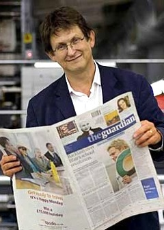 Alan Rusbridger, Guardian News Media, GMG,