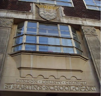 St Martin's, School of Art,alumni,London,Central Saint Martins