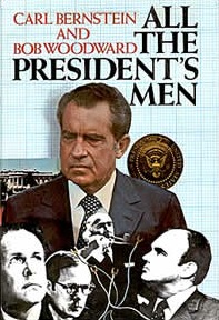 All the President's Men, books, Woodward, Bernstein