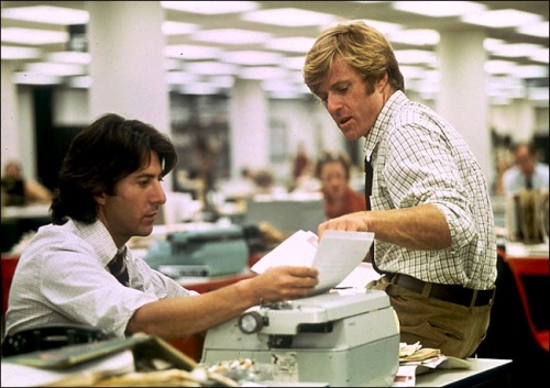 All the President's Men, Dustin Hoffman, Robert Redford