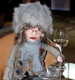 Hilary Alexander, doll, British Fashion Council