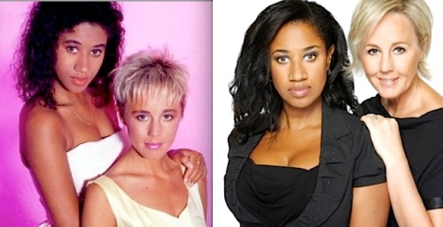 Pepsi DeMacque, Shirlie Holliman, Pepsi & Shirlie, then and now,Here & Now, tour