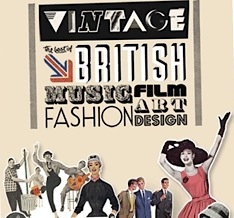 Vintage 2011 , SBC, RFH,Wayne Hemingway,London, Southbank Centre , music, fashion, festival