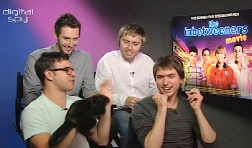The Inbetweeners Movie,Blake Harrison ,James Buckley, Joe Thomas, Simon Bird, Digital Spy, video