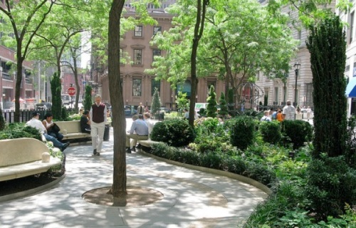 British Garden, Hanover Square, New York, Julian Bannerman,
