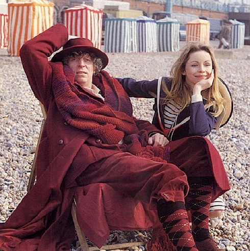 Doctor Who, Lalla Ward, Tom Baker, Douglas Adams, Leisure Hive,