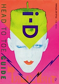 i-D magazine,Scarlett Cannon,Head to Toe Guide,1982