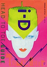 i-D magazine,Scarlett Cannon,Head to Toe Guide,1982