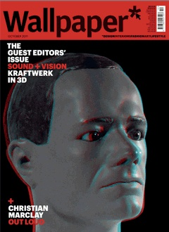 Wallpaper magazine,october 2011, Kraftwerk, Ian Schrager, 3D video,Munich,concerts