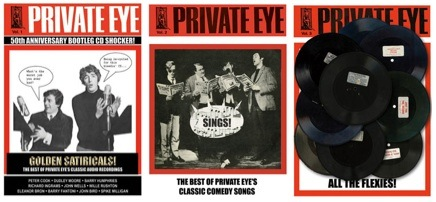Private Eye, 50th anniversary, privateeyerecords, Gnome-Mart,satire,CD,Golden Satiricals