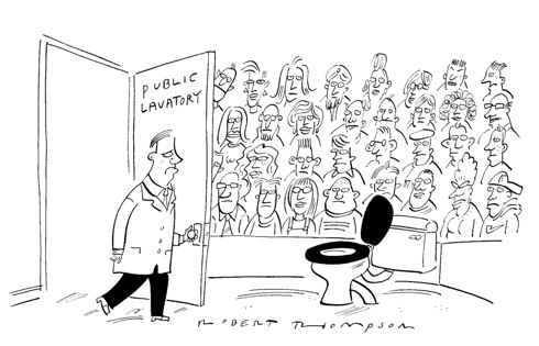Private Eye, First 50 Years,satire,V&A exhibition,humour, cartoons
