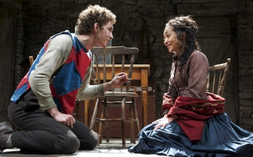 Robert Sheehan ,Ruth Negga, Playboy of the Western World, Old Vic, theatre, Critics at the Cri