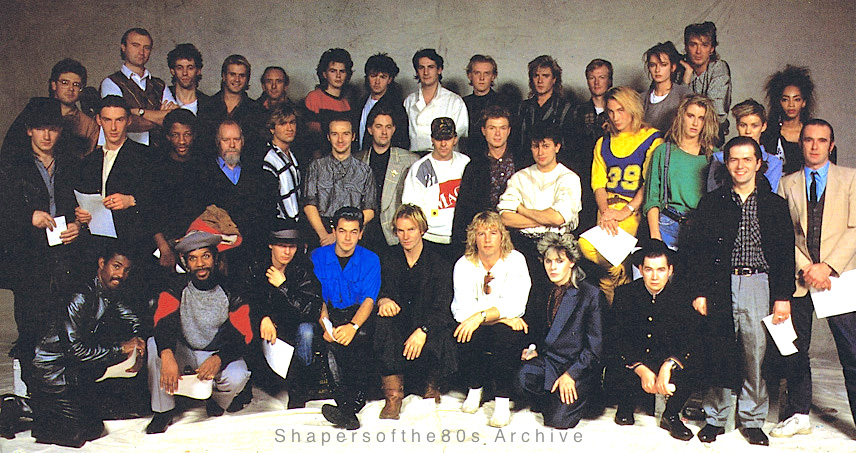 1984 Band Aid The Smash Hit That Earned 47 Artists Three Platinum Discs Each
