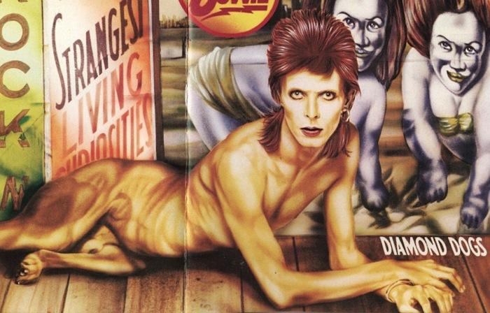 l'immense David Bowie est décédé après avoir publié son ultime chef-d'oeuvre, ★ (Blackstar)  Db74diamonddogsl