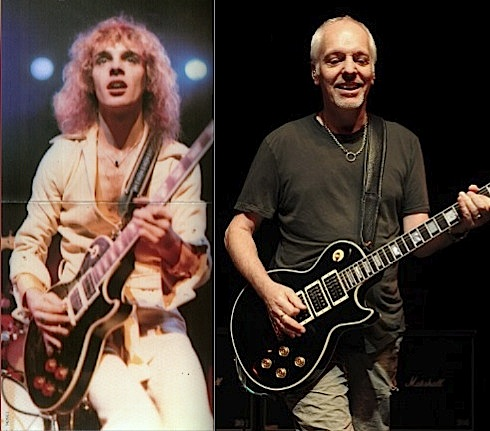 Peter Frampton, Frampton Comes Alive,world tour 2011,1954 Les Paul Custom