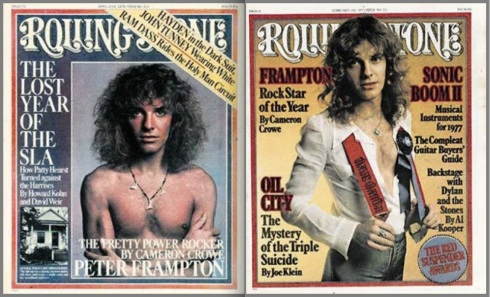 Peter Frampton, Rolling Stone, magazines, Rock Star of the Year,