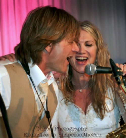 Steve Norman, Shelley Preston, Spandau Ballet, Cloudfish, pop music, wedding, exclusive photos